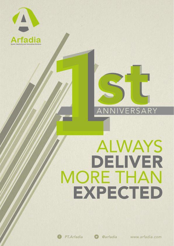1st PT.Arfadia Anniversary