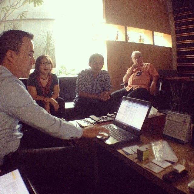 Arfadia meeting with PNPM Mandiri Perdesaan, DFAT,  PT Datacomm Diangraha