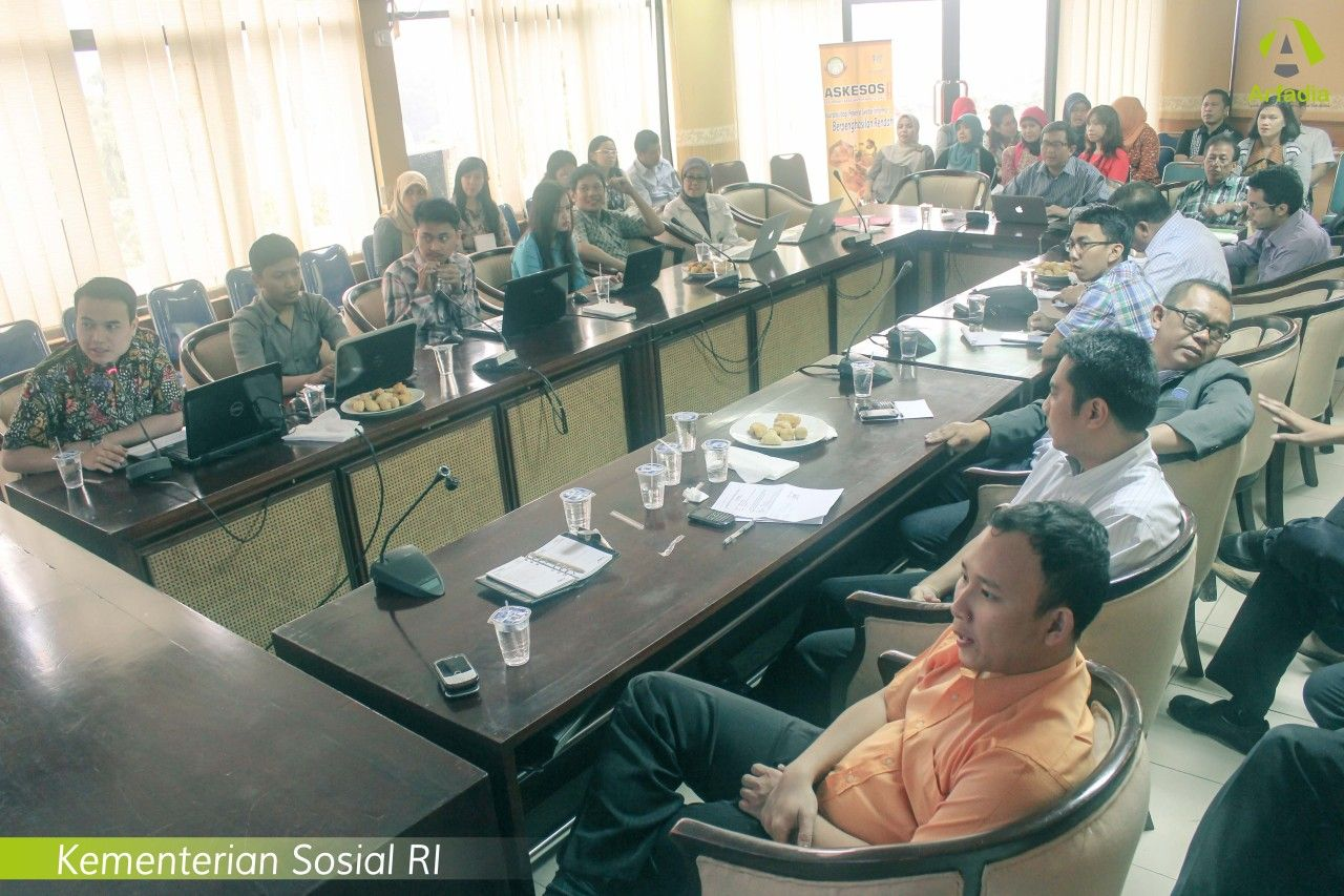 Meeting Dengan Kementerian Sosial RI