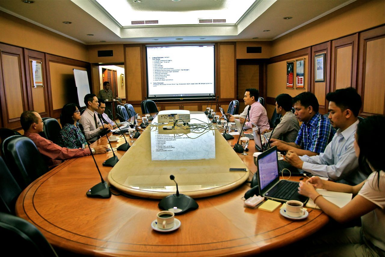 Arfadia Intranet Portal Meeting With Tugu Pratama Indonesia