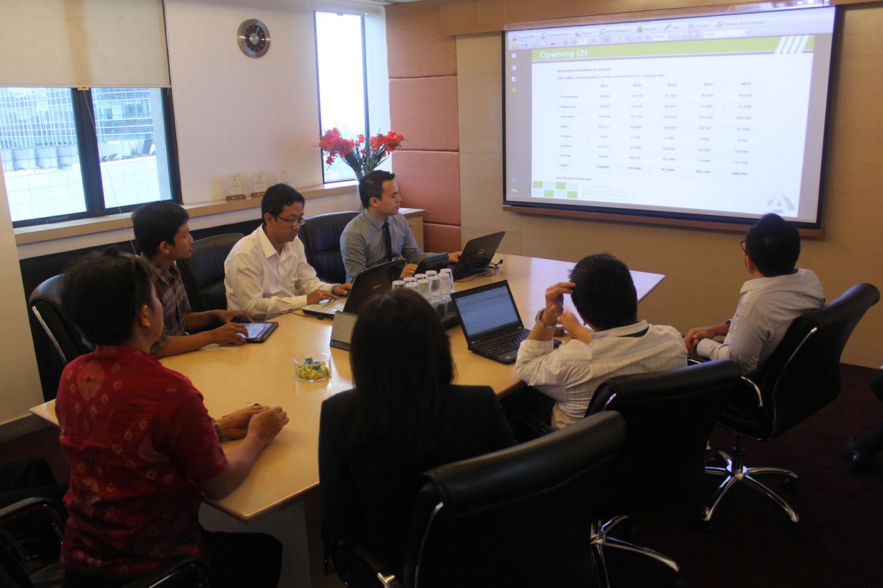 PT. Arfadia meeting with PT Trimegah Securities Tbk
