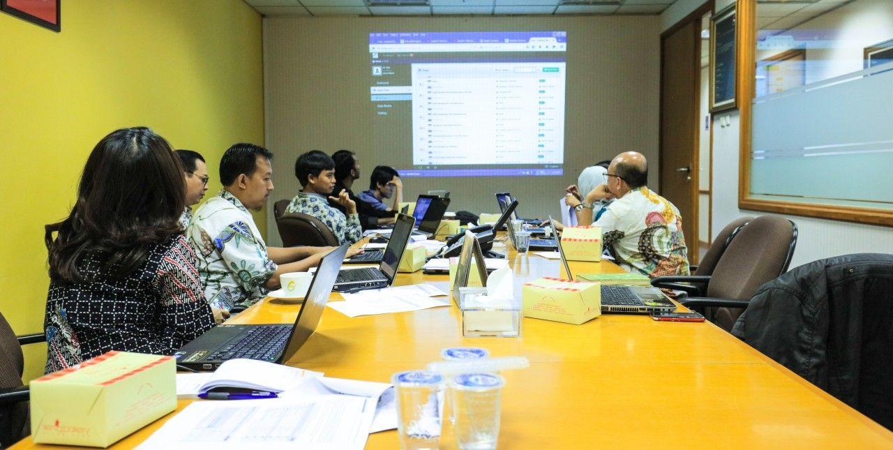 Training Penggunaan CMS (Content Management System) Arfadia Bersama PT. PPA