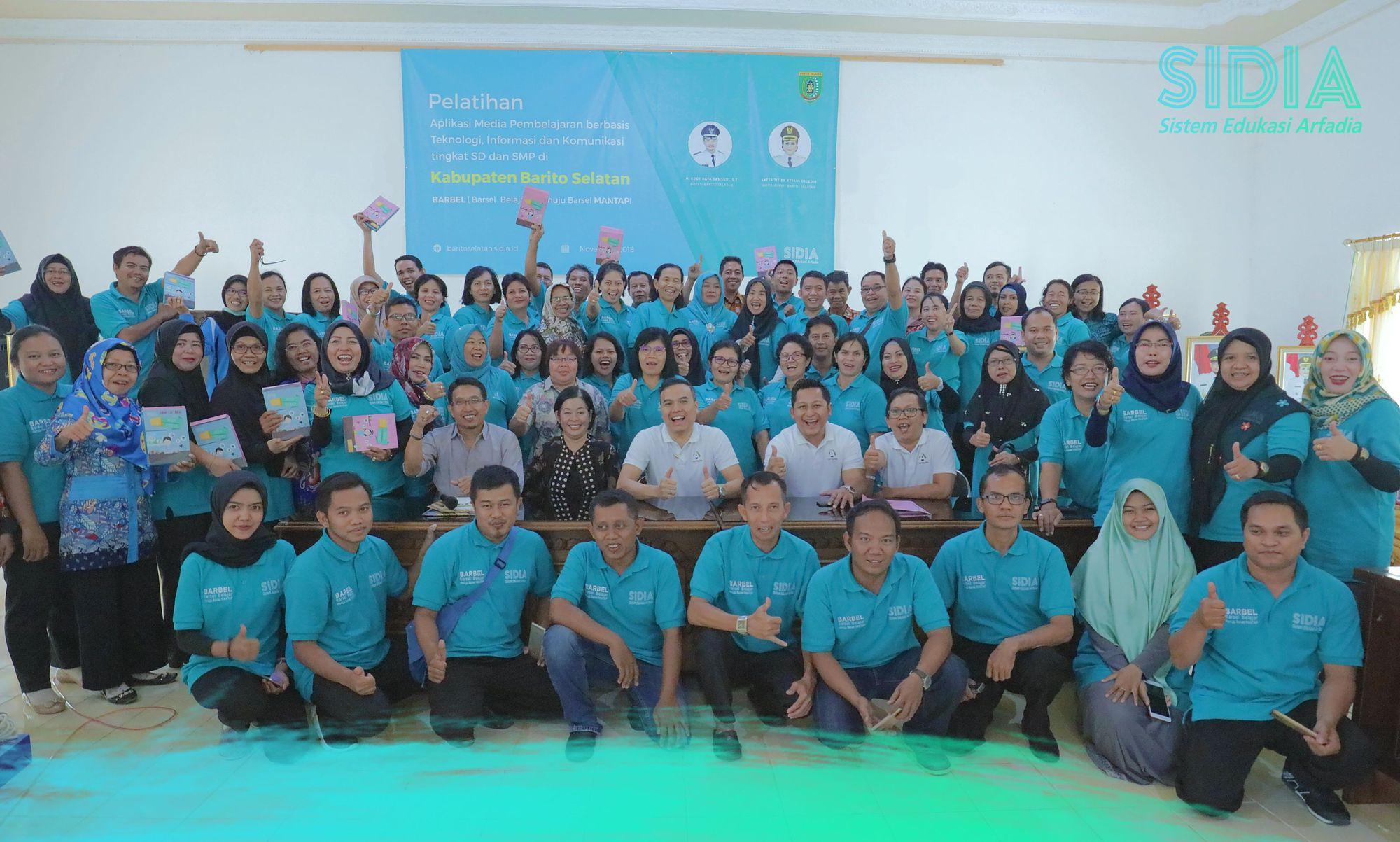 SIDIA resmi digunakan di Kabupaten Barito Selatan Kalimantan Tengah