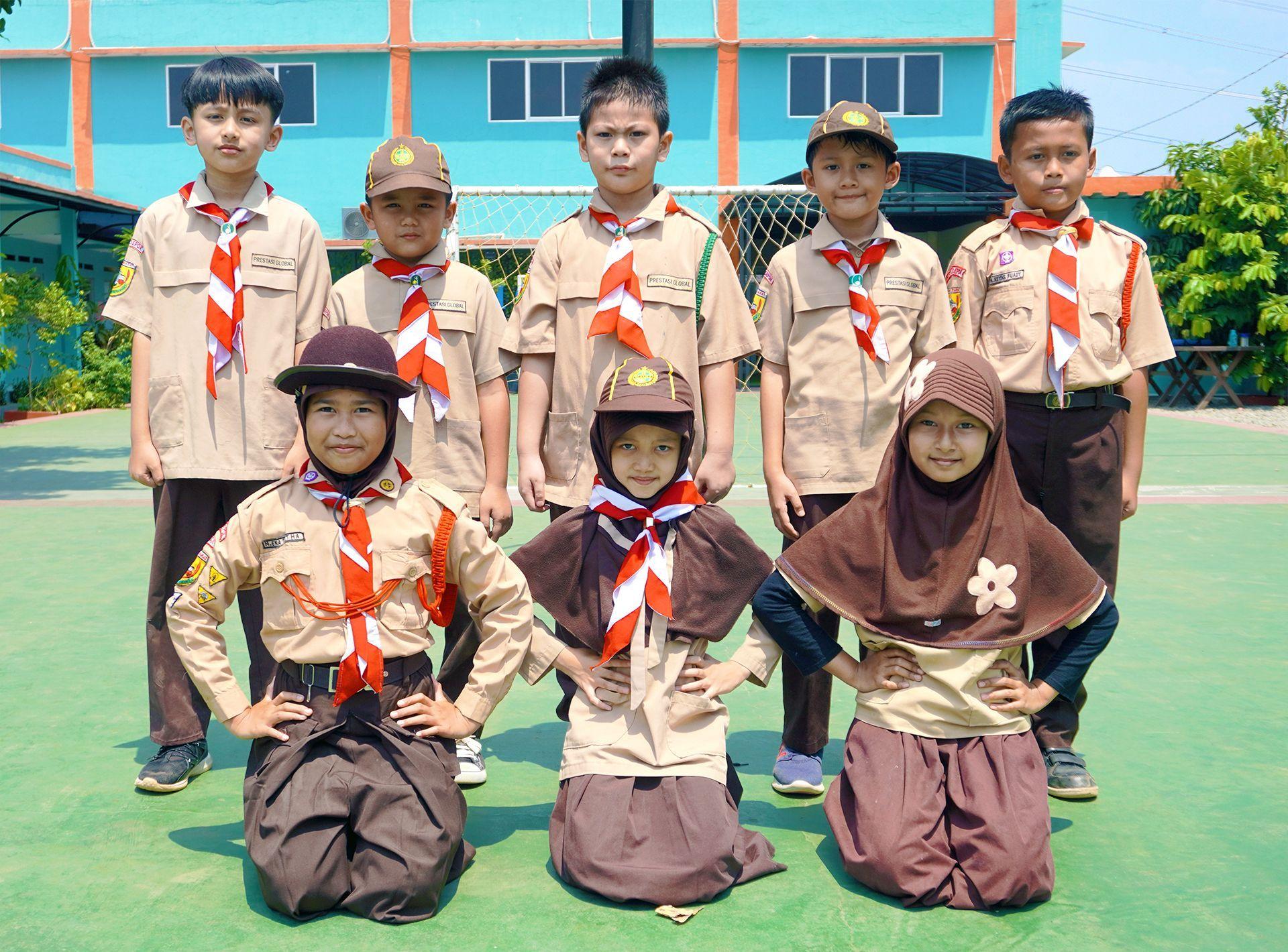 Pramuka Sekolah Prestasi Global