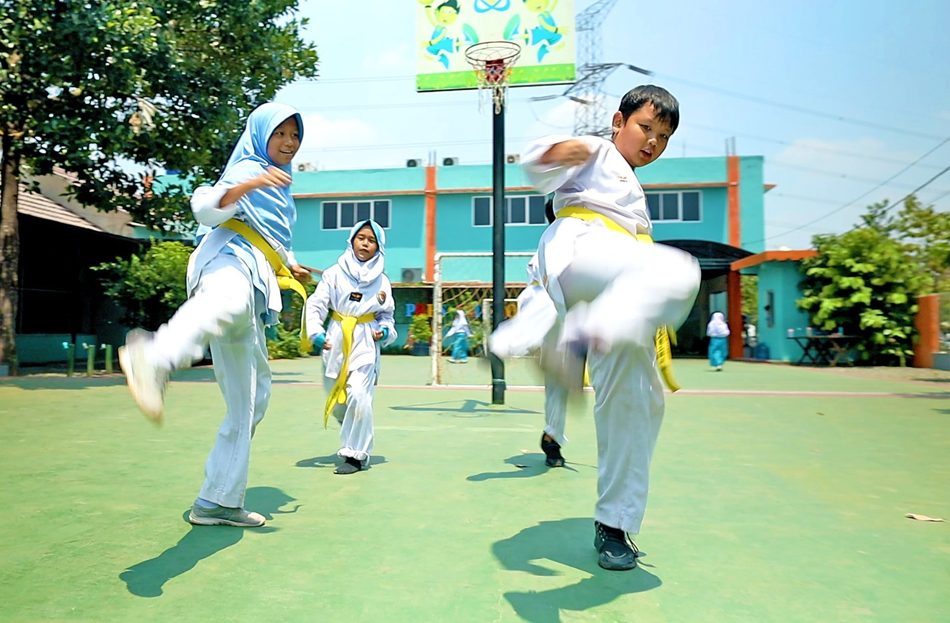 Taekwondo Sekolah Prestasi Global