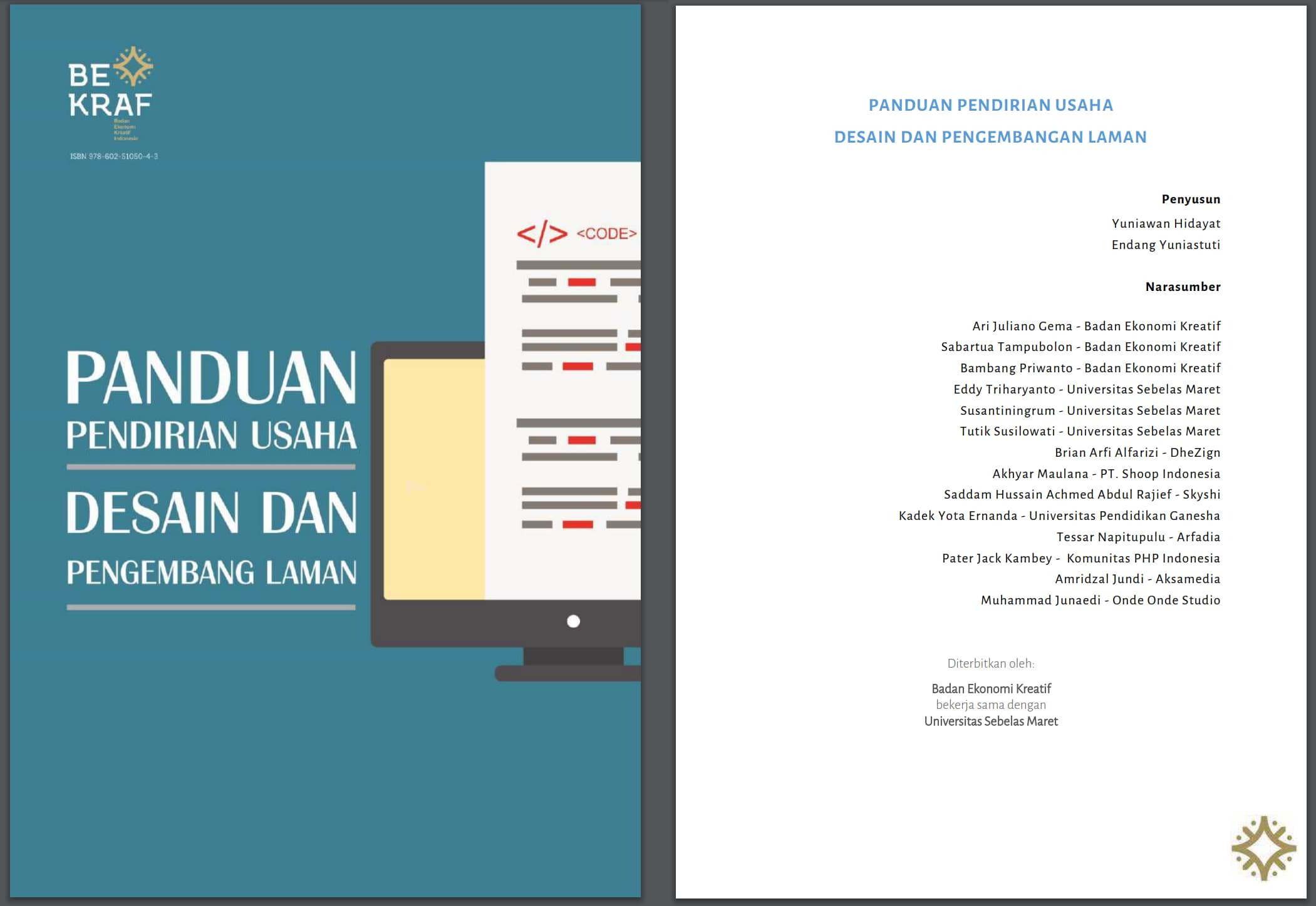Buku Panduan Pendirian Usaha - Desain dan Pengembang Laman