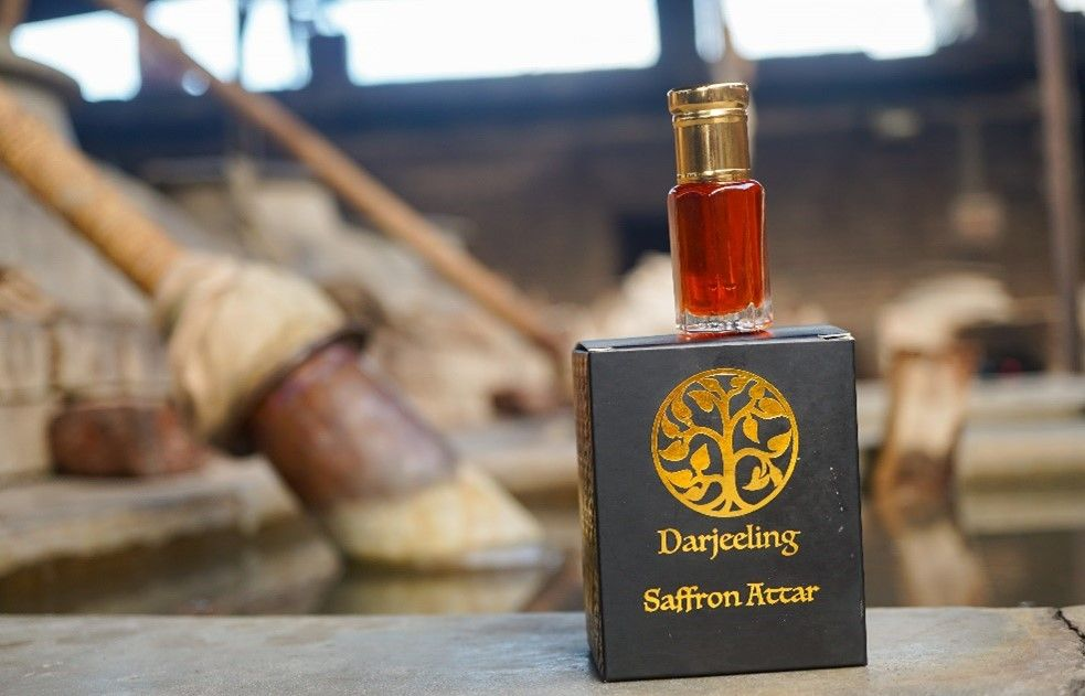 Darjeeling Sembrani Aroma - Saffron Attar