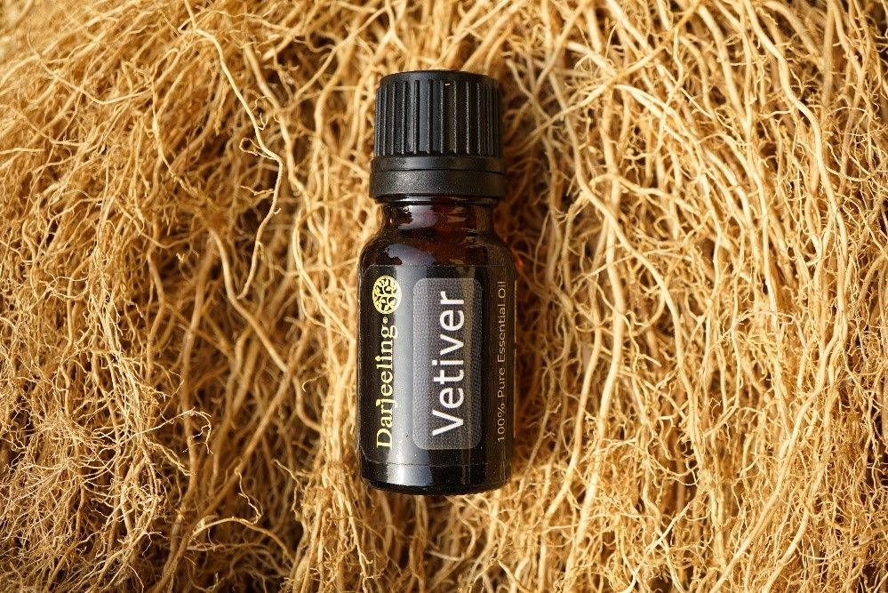 Darjeeling Aromatherapy - Vetiver - 100% Pure Essential Oil