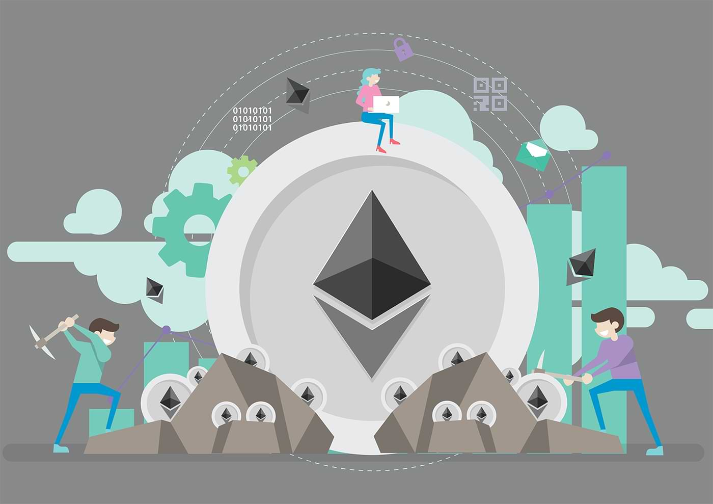 Ethereum Illustration